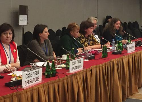 Совещание ОБСЕ по человеческому измерению в Варшаве